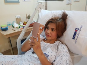 Even if I am confined, stuck in hospital bed ad cannot walk, not even my doctors can stop me from looking great hahahaha