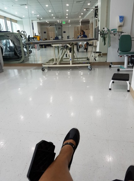 My first rehab.. I was scared to be honest